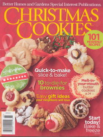 Better Homes and Gardens Christmas Cookies Cover